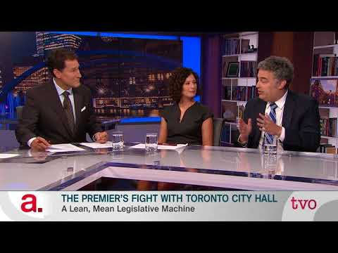 The Premier's Fight with Toronto City Hall