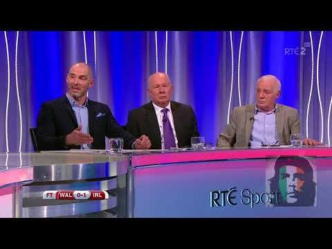 Eamon Dunphy where would we be without Londonderry