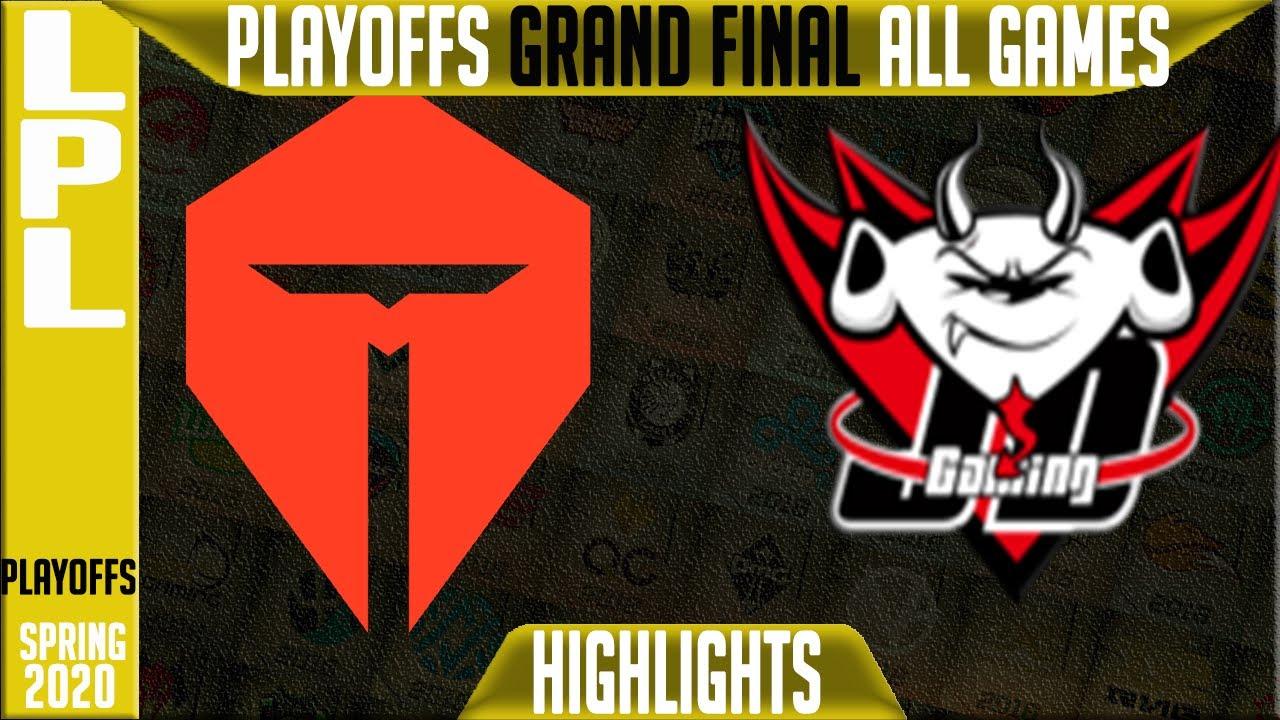 TES vs JDG Highlights ALL GAMES | LPL Spring 2020 GRAND FINAL | Top Esports vs JD Gaming