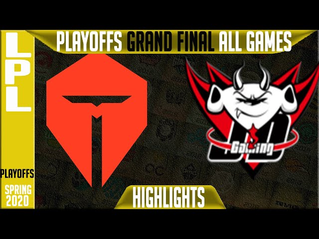 TES vs JDG Highlights ALL GAMES | LPL Spring 2020 GRAND FINAL | Top Esports vs JD Gaming