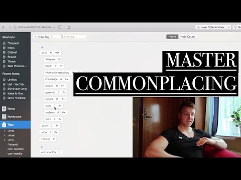 Commonplacing Tutorial  -  The Fundamentals & How To Structure Your Life thumbnail