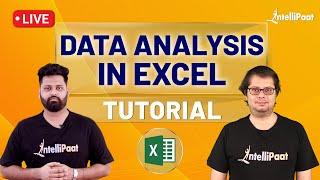 Data Analytics Course | Data Analysis In Excel | Excel Data Analytics Tutorial | Intellipaat