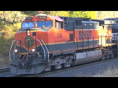 BNSF & UP Trains in Tehachapi, Mojave, ext. (November 16th, 2014)