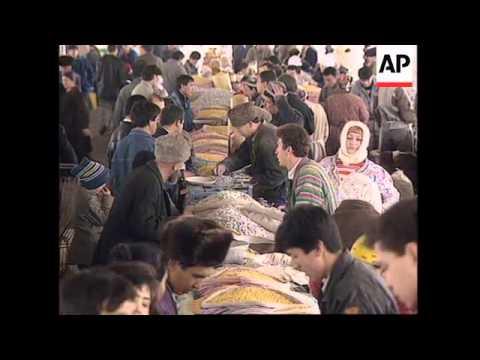 UZBEKISTAN: GOVERNMENT TRIES TO OVERCOME ECONOMIC PROBLEMS