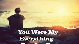 ~ You Were My Everything - Jay B