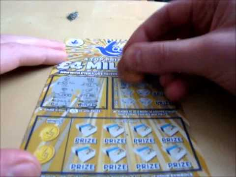 Uk National Lottery Gold Scratch Card Challenge
