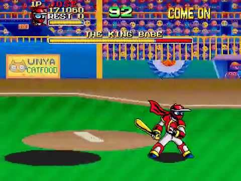 Arcade Longplay [424] Ninja Baseball Bat Man