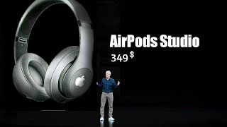 Apple AirPods Studio A true over-ear Headphones - Here !!