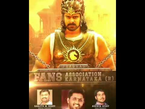 Prabhas Fans Association Karnataka (R) Wishes very happy Birthday to our Darling Prabhas