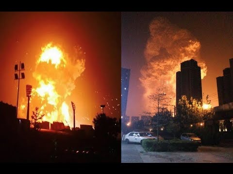 Tianjin Explosion China 2015 HD