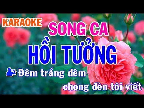 Karaoke Hồi Tưởng Song Ca Nhạc Sống l Nhật Nguyễn