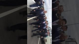 Открытие моста в Торжке