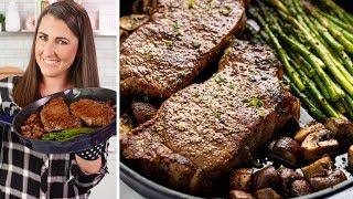 How to Make a Skillet Steak Dinner
