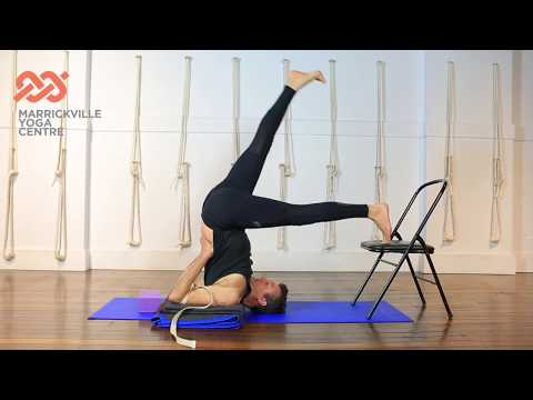 Shoulder Stand Iyengar Yoga Beginners Tutorial