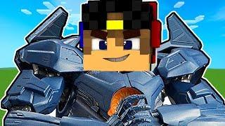 Трансформеры автоботы Майнкрафт ПЕ Нубик Робот Оружие Обзор на моды мод Видео Нуб и Про Minecraft PE