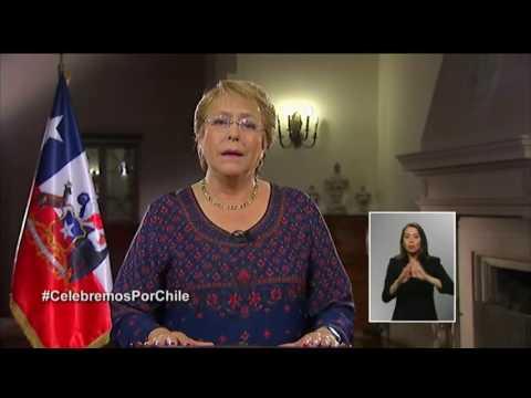 Cadena nacional de la Presidenta Michelle Bachelet - 31 de diciembre de 2016