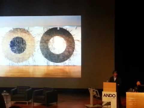 "2013_02_20 Tadao Ando at NUS ""Asia on The Move"""