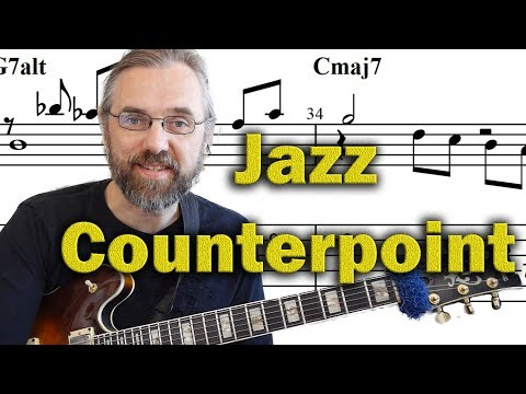 Counterpoint Jazz Guitar - Discover New Harmonic Ideas - Advanced Jazz Comping Lesson