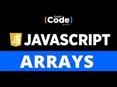 Arrays In JavaScript   JavaScript Arrays Tutorial   JavaScript Array Methods