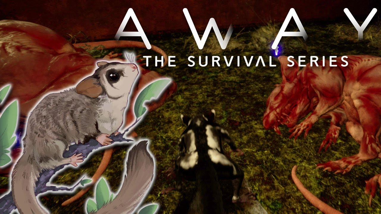 Download Into the Depths of NIGHTMARES...!! 🦂 AWAY: A Survival Story • #10