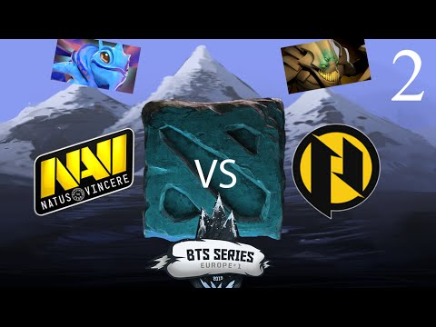 Navi vs Pries - Game 2 - BTS Series EU - KotLGuy & Lysander