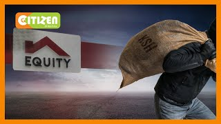 Five armed men rob Equity bank's Matuu branch