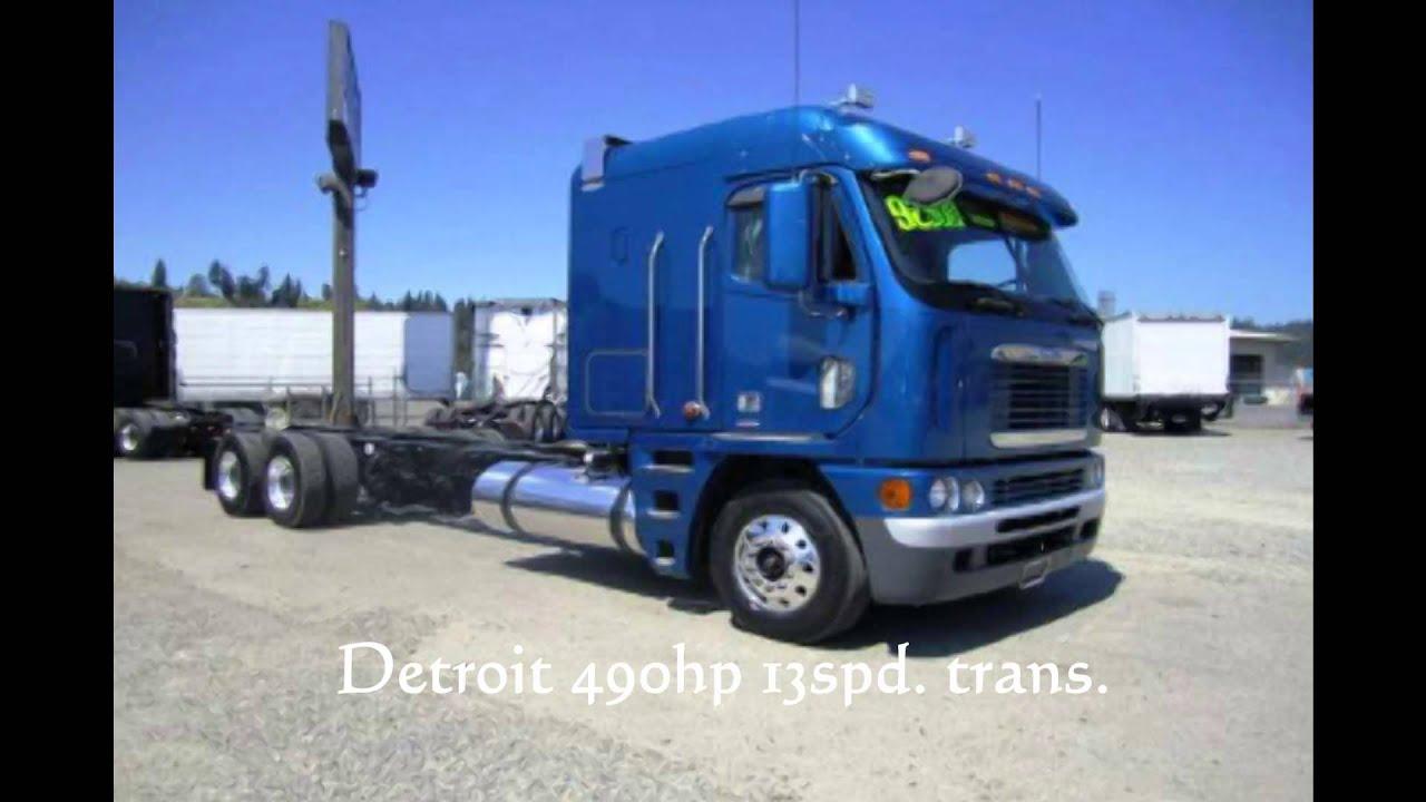 Cabover Trucks For Sale >> Freightliner Cabover for sale. 2007 Freightliner Argosy ...
