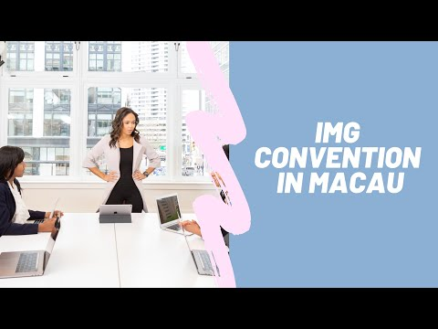 IMG's Convention in Macau (Financial Literacy)
