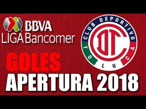 Deportivo Toluca ● Liga Mx Apertura 2018 ● Todos los goles