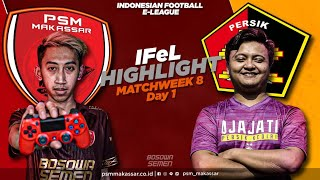 IFeL Reguler League Matchweek 8 Day 1 - PSM Makassar Vs Persik Kediri