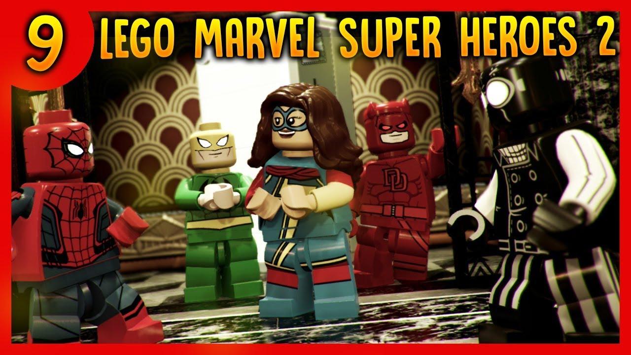 Lego Marvel Super Heroes 2  – KINGPIN JEST BURMISTRZEM –  lego Gra gry
