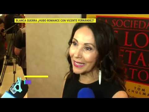 ¿Tuvieron romance Blanca Guerra y Vicente Fernández? | De Primera Mano