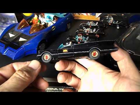 The 6 Versions Of The Corgi 1:43 Scale 1966 Batmobile