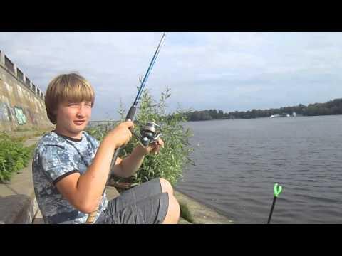 ловля рыбы на днепре в могилеве видео