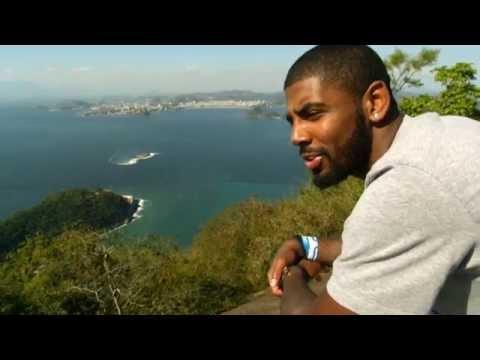 Anderson Varejao Hosts Cavaliers in Brazil!