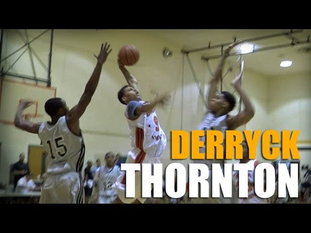 15 Year Old With KYRIE IRVING Potential!!! Derryck Thornton Jr.  Summer Mixtape!!!