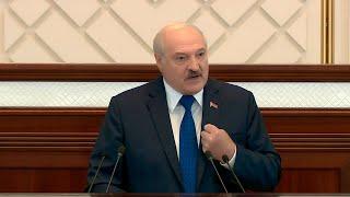 Лукашенко: Я не мог допустить, чтобы самолет упал на головы наших людей