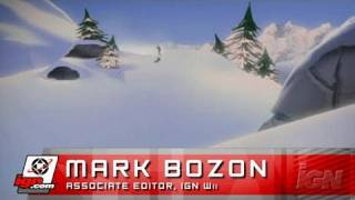 SSX Blur Nintendo Wii Review - Video Review (480p)