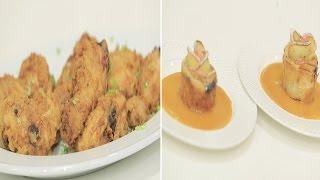 دجاج مقرمش - شوربة بطاطس - وردات التفاح | مغربيات حلقة كاملة