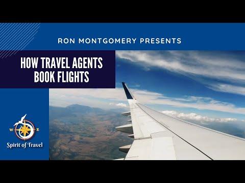 How Travel Agents Book Flights