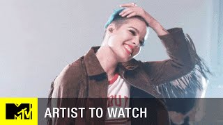 Halsey - 'Juicy' Cover (Exclusive Performance)   Artist to Watch   MTV