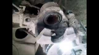 Замена тормозных дисков на Kia Rio часть 4