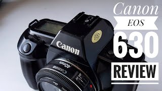 Canon EOS 630 SLR - 35mm Film Camera. My thoughts.