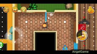 Robbery Bob - Bonus Chapter (Challenge) Level 5 Gameplay Video