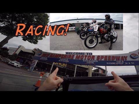 New Hampshire bike week- Vintage motorcycle racing!