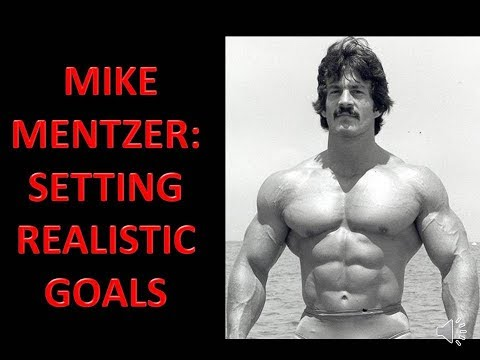 REALISTIC MUSCLE GROWTH! THE WISDOM OF MIKE MENTZER GOLDEN ERA SERIES!!