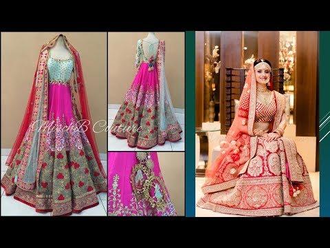 Exclusive Bridal Lehenga Designs  Part 15
