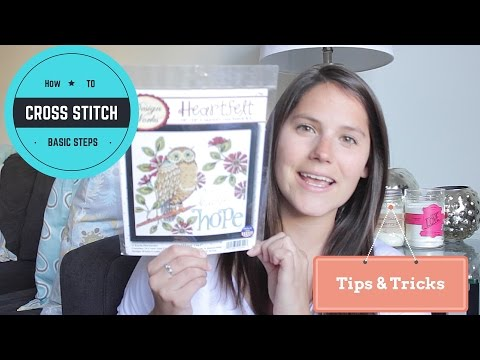 How to: CROSS STITCH