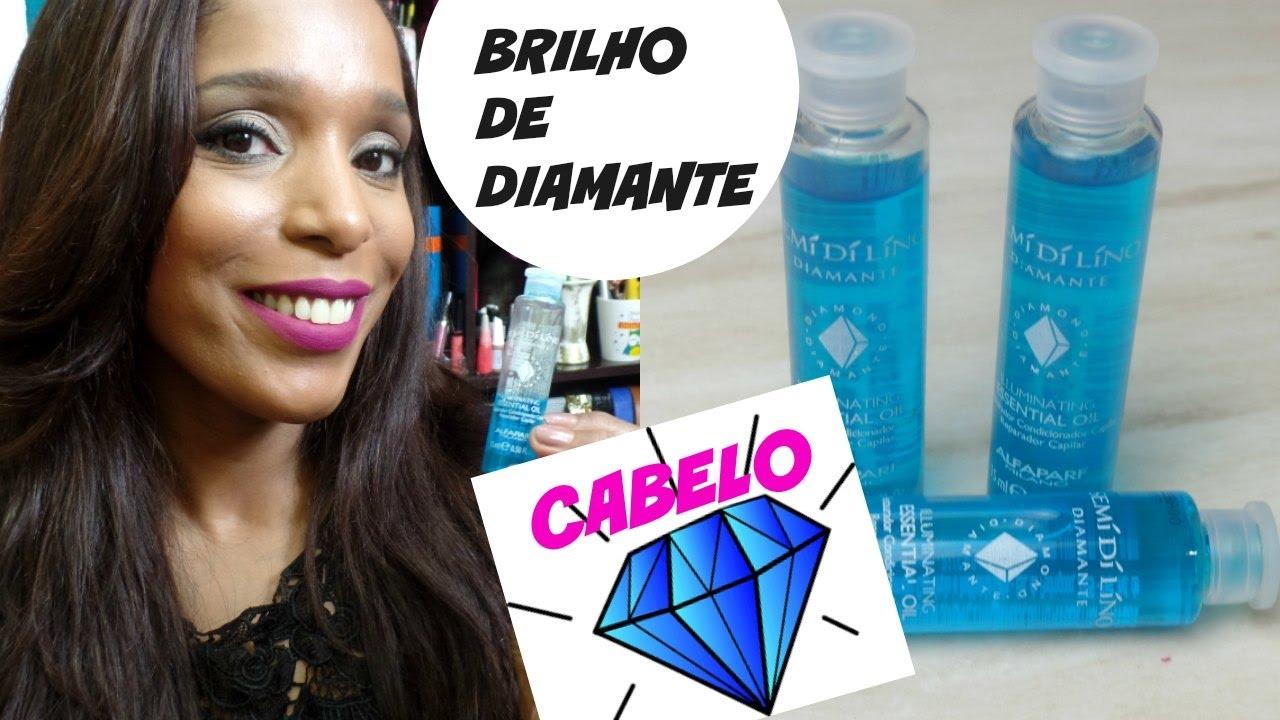 Cabelo Ampola Alfaparf Semi Di Lino Diamante Essential Oil Youtube