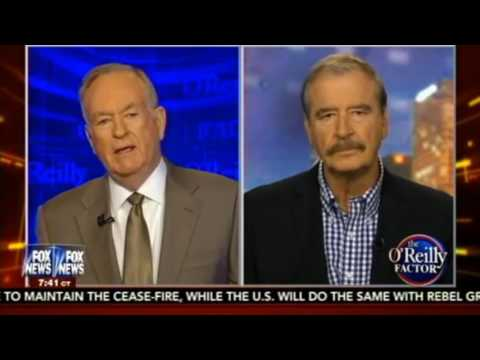 FULL   Bill O'Reilly Interviews Vicente Fox Quesada To Talk Border And Immigration May 2016